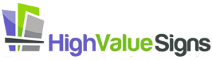 Dallas, TX Sign Company highvalue logo 300x86