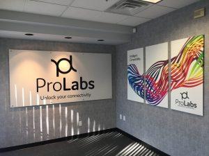 custom indoor lobby signage